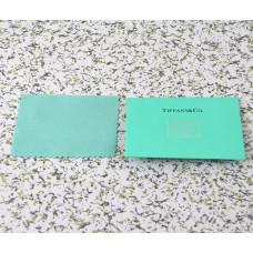 Фирменная салфетка для ухода за серебром Tiffany&Co -005