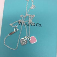 "Подвеска Tiffany & Co ""Два сердца"" ПT03"