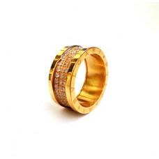Кольцо BVLGARI (Лимонное золото) 031