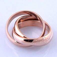 Кольцо CARTIER Trinity Gold 025