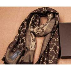 Шарф женский Gucci ШГ007. Размер 175х230 см.