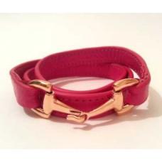 Кожаный браслет Gucci 0127