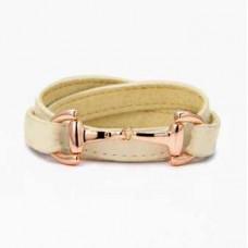 Кожаный браслет Gucci 0128