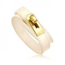 Кожаный браслет HERMES 0130