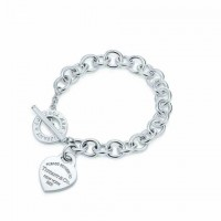 """Браслет Tiffany & Co """"Открытое сердечко"""" БТ025"""