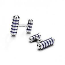 Запонки Tiffany & Co Тёмно-синее ЗП012